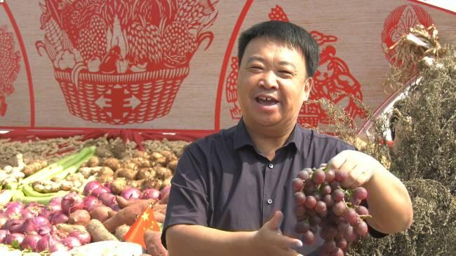 43秒丨颗粒归仓庆丰年 潍坊隆重举办2020年中国农民丰收节庆祝活动