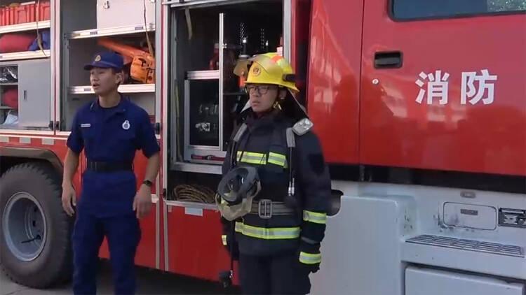 38秒丨滨州消防阳信大队走进中学内开展消防安全培训