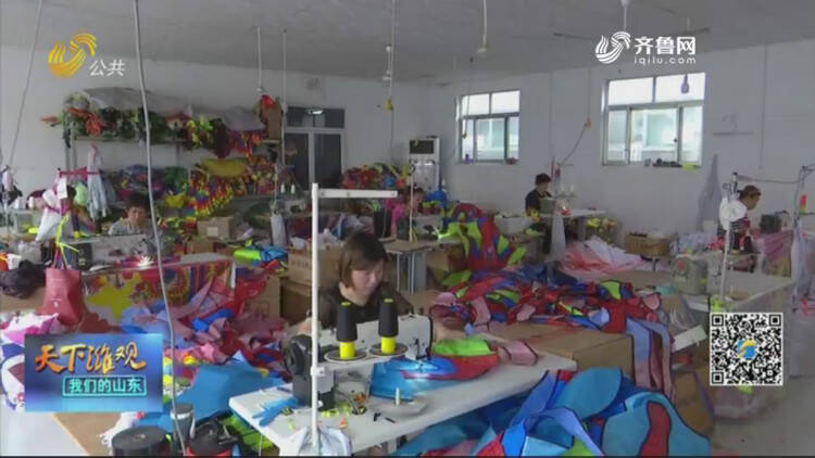 潍坊:国际风筝会前风筝扎制忙 筹备工作基本完毕