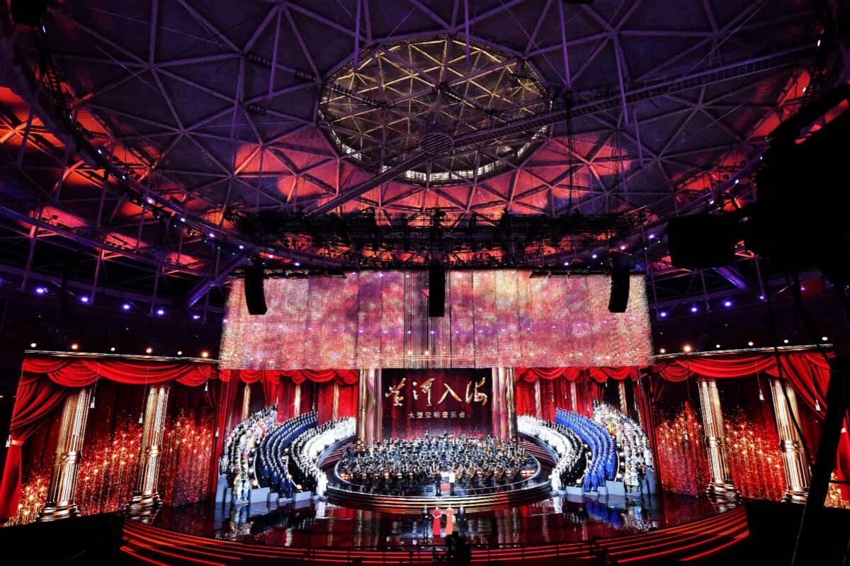 大型交響音樂會《黃河入?!穼⒂?月27日19:30在央視音樂頻道播出