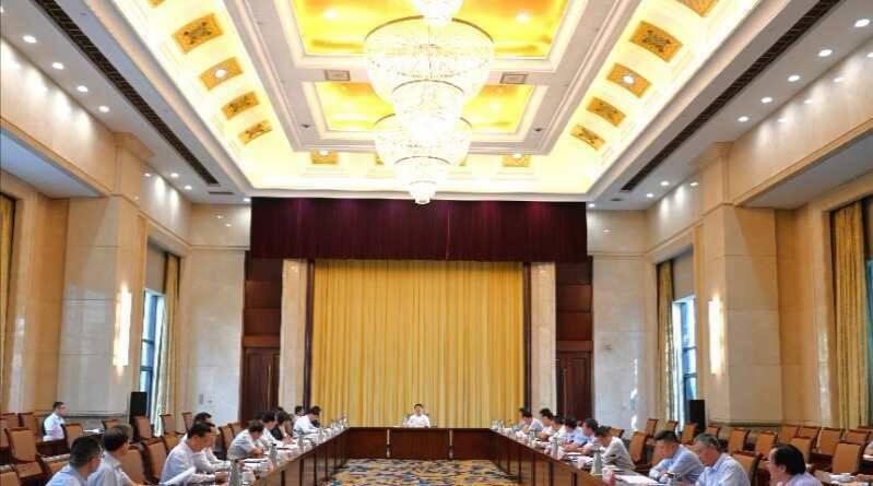 淄博市委意识形态和宣传思想工作领导小组召开会议