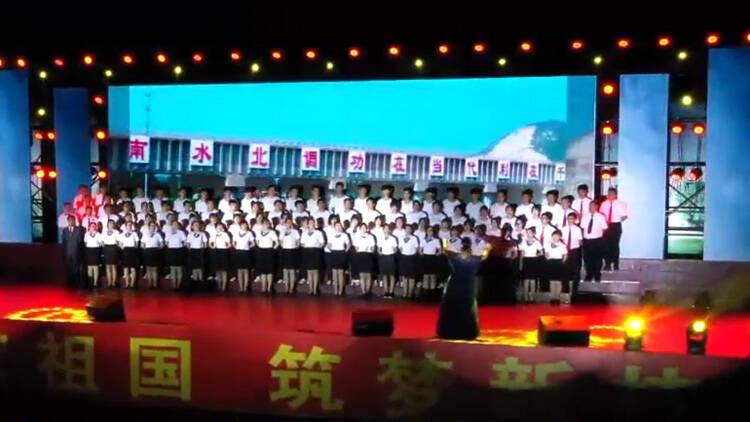 78秒丨歌声献祖国、筑梦新技师 滨州这所学校师生共同高歌向祖国献礼