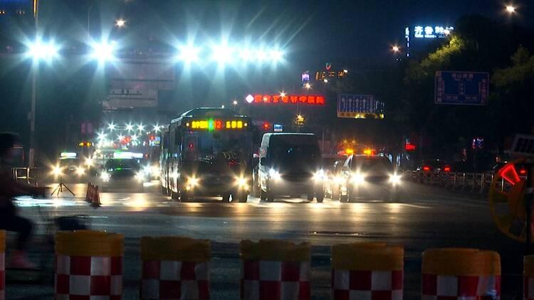 恢复交通!济南地铁2号线长途汽车站站点济泺路方向车道全部放开