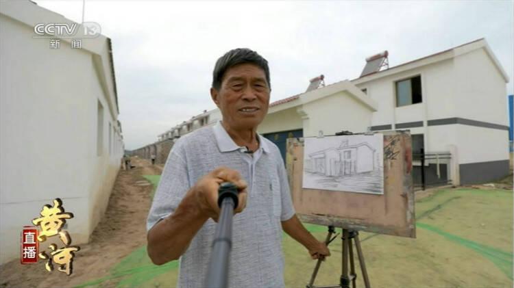 九曲黄河 水润齐鲁丨农民画家毛吉志:画笔绘出滩区生活的变迁