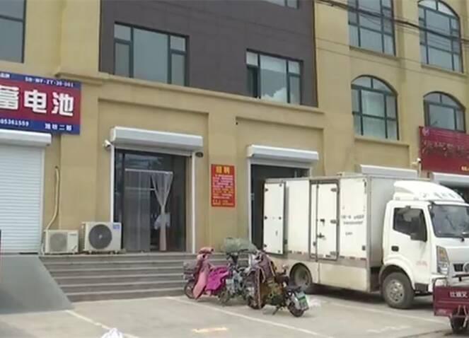 潍坊一市民320万买三层商铺 一楼却变成公共门厅