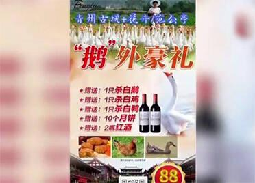 潍坊:旅游只要88元还赠红酒、大闸蟹 旅游团上路变成听课团