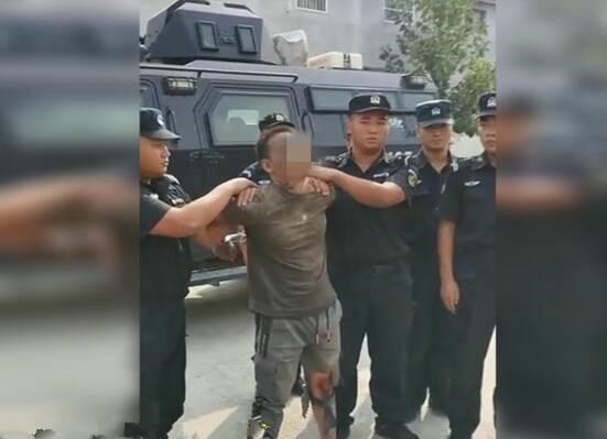 抓捕视频曝光!菏泽鄄城警方悬赏通缉涉重大刑事案件犯罪嫌疑人落网