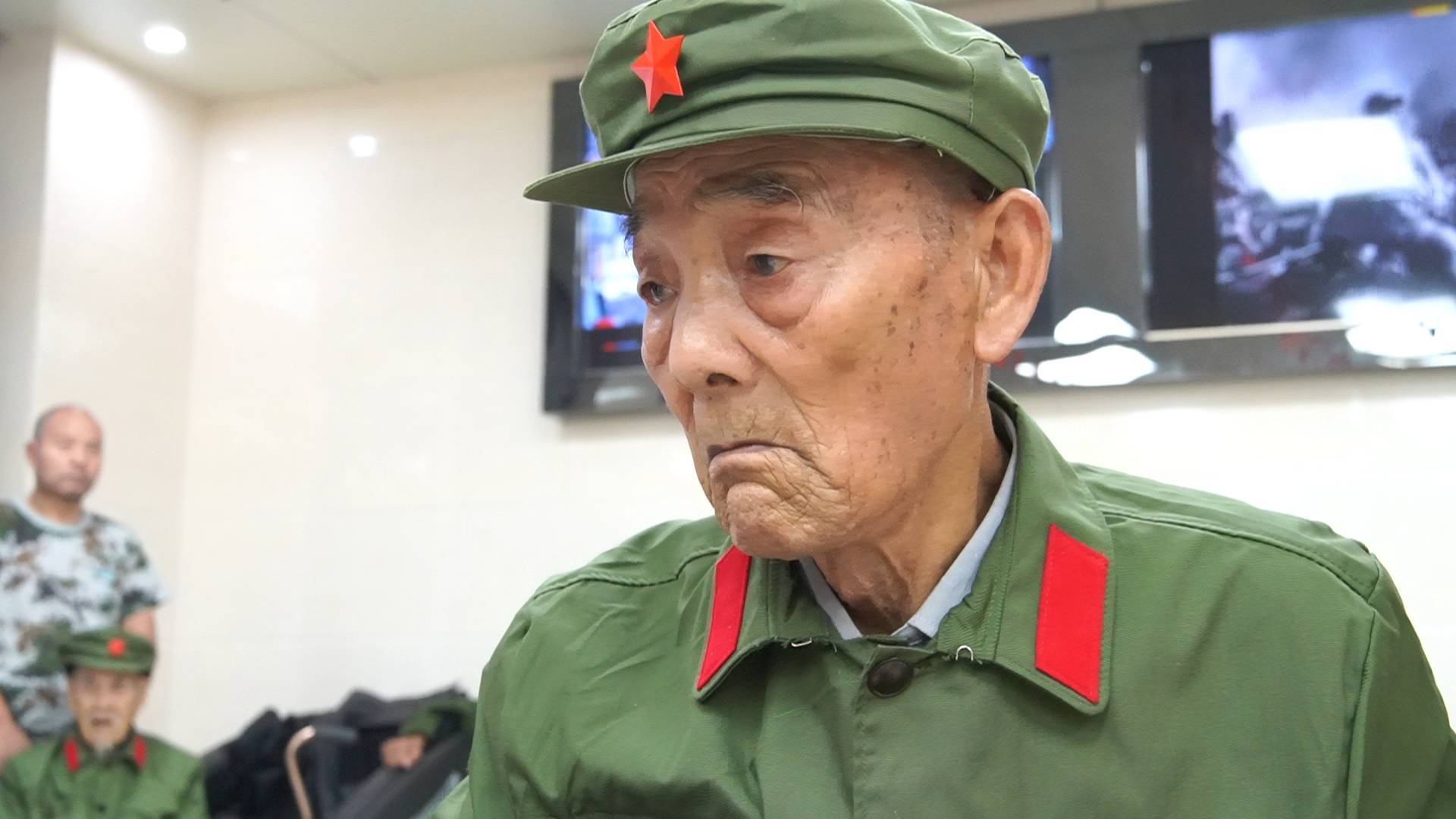 致敬抗战老兵 传承抗战精神|老兵陈焕林:怕也得打,死也得把据点拿下来