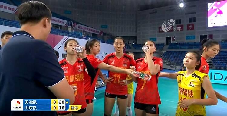 遗憾失利!山东女排1-3不敌天津女排获得全锦赛亚军