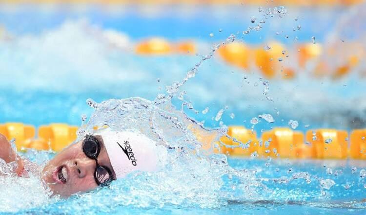 38秒|山东骄傲!淄博姑娘杨浚瑄打破世界纪录夺三金