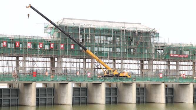 55秒丨假期坚守岗位  东营广饶确保重点水利工程按期完工