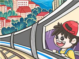 """闪电漫评丨""""坐着高铁看中国"""",静看大美中国的""""高光时刻"""""""
