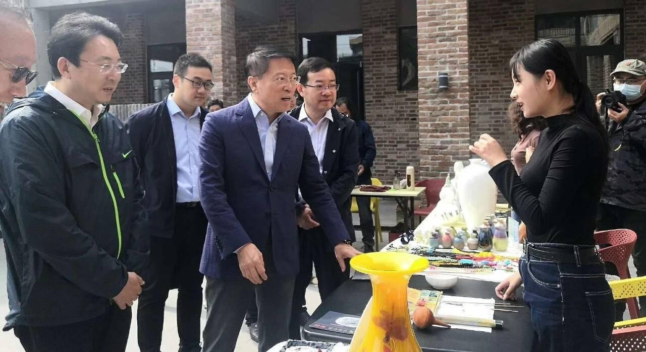 淄博市委书记江敦涛到博山调研文旅融合发展工作