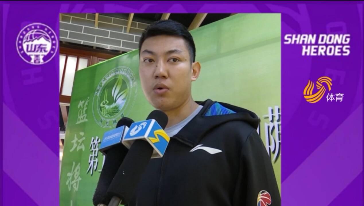 出征新赛季丨山东男篮焦海龙:跟贾诚、陶汉林对抗让我提高很多