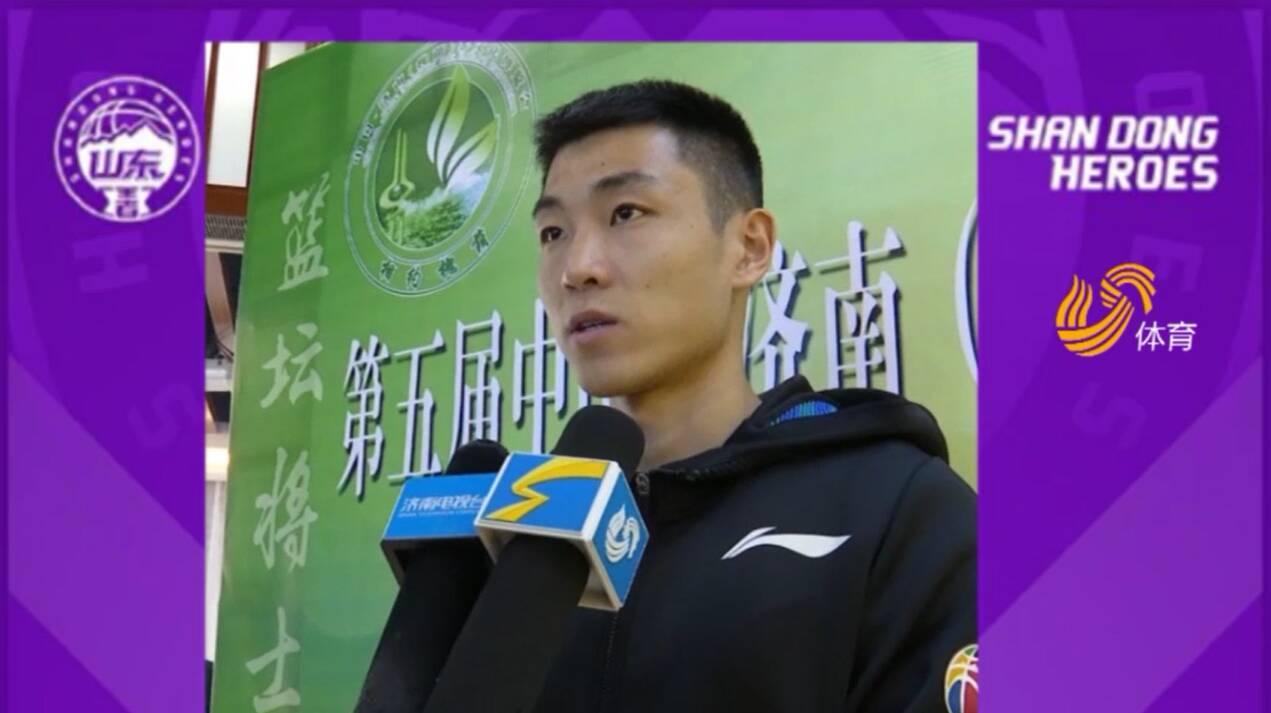 出征新赛季丨山东男篮高诗岩:球队目标是先打进季后赛