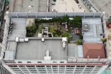 潍坊华昇现代城两处公共区域被占用 17层楼顶建私人会所