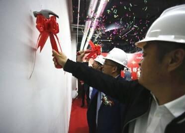 潍坊综合保税区新添一处商业购物新地标 保税生活广场主力商户开工