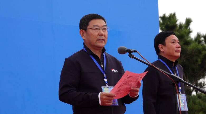 40秒丨日照市副市长刘兆亮:体育是日照的名片 与城市脉搏共振、融合互动