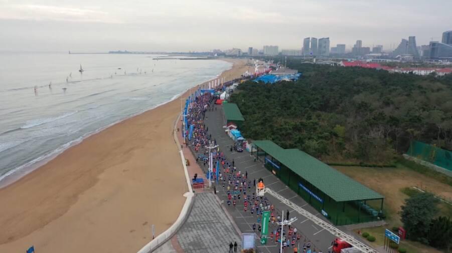 38秒丨2020日照马拉松激情开跑 3000多人参赛!