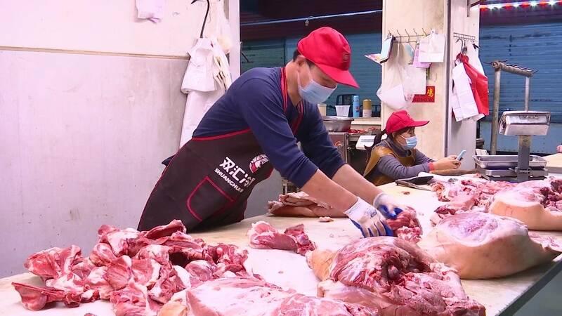 38秒丨双节过后德州猪肉价格走低,腿骨价格降至12元/斤