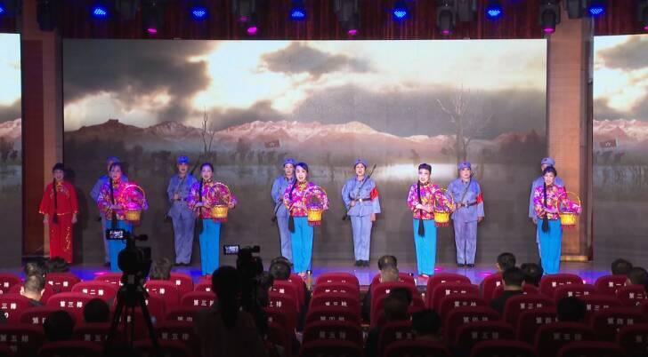 55秒|红色熔炉铸党性!枣庄峄城庄户剧团走进市委党校