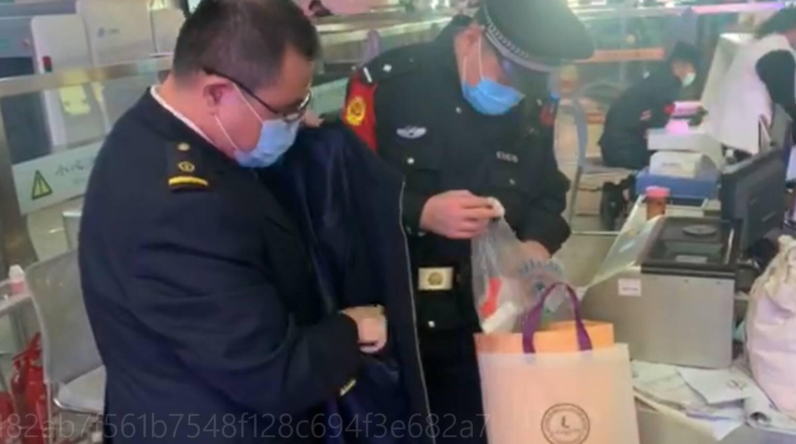 旅客遗失看病现金,济南西站工作人员紧急送回