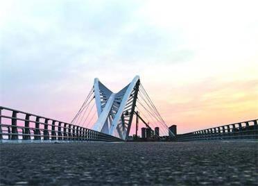 桥梁全长921米!威海首座大型景观大桥年底通车