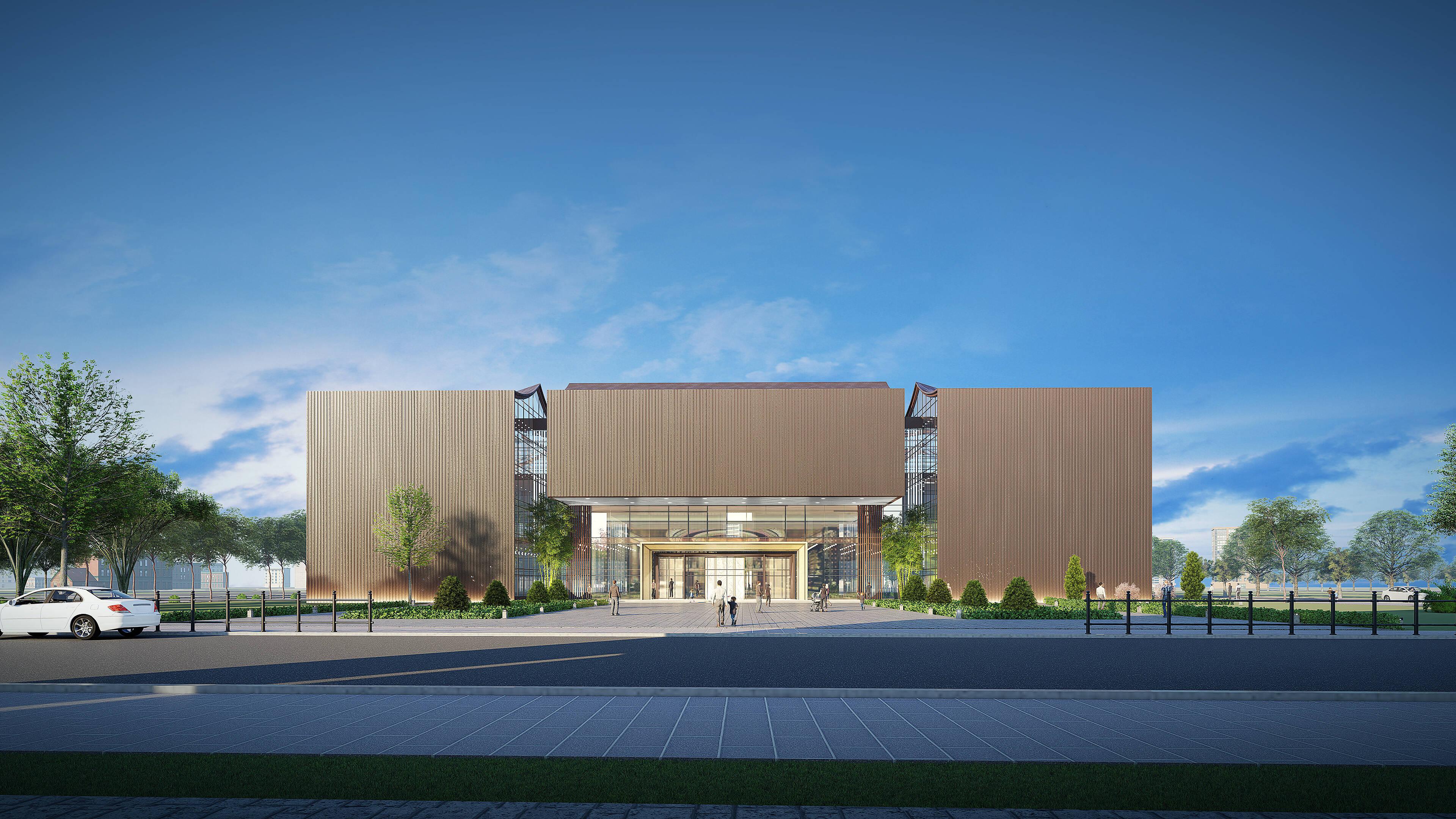23秒丨日照海曲音乐厅项目预计年底前完成主体建设