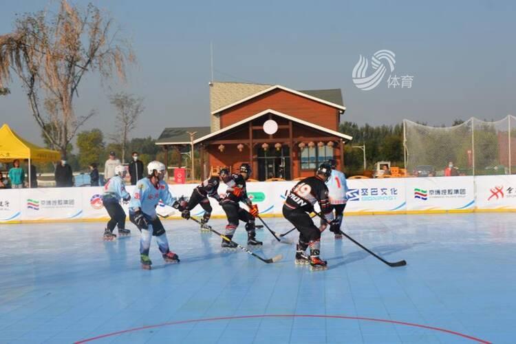 中国轮滑球联赛(博兴站)圆满落幕