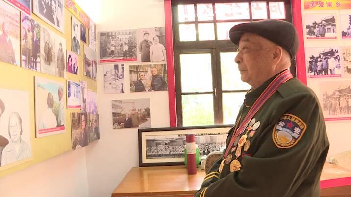 37秒|聊城:缅怀开国将军 纪念朱光炮兵师入朝作战七十周年
