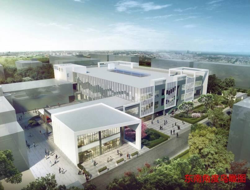 山东女子学院要有新食堂啦 有三层18米高 总建筑面积14311平方米