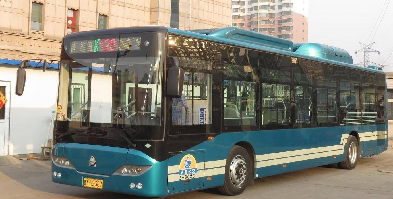 好消息!明日起济南公交K128路延长至刘长山路公交车场 K170路延长至领秀城西门
