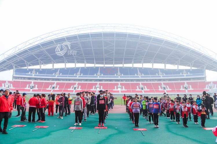 2020年潍坊市国家体育锻炼标准达标测试赛举行