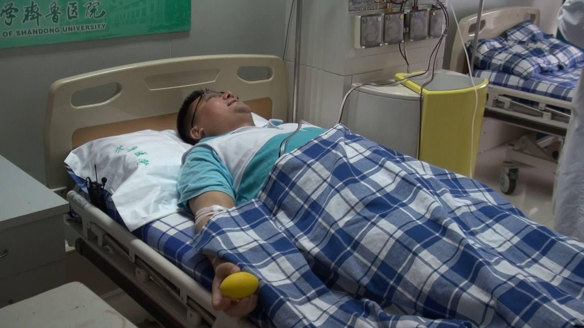 """传递""""生命的种子""""!威海医生丁亮成为山东第900例造血干细胞捐献志愿者"""