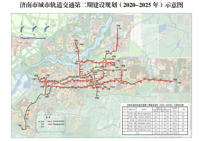 济南地铁二期2条线路开始招标 沿经十路走行的4号线工期缩为5年半