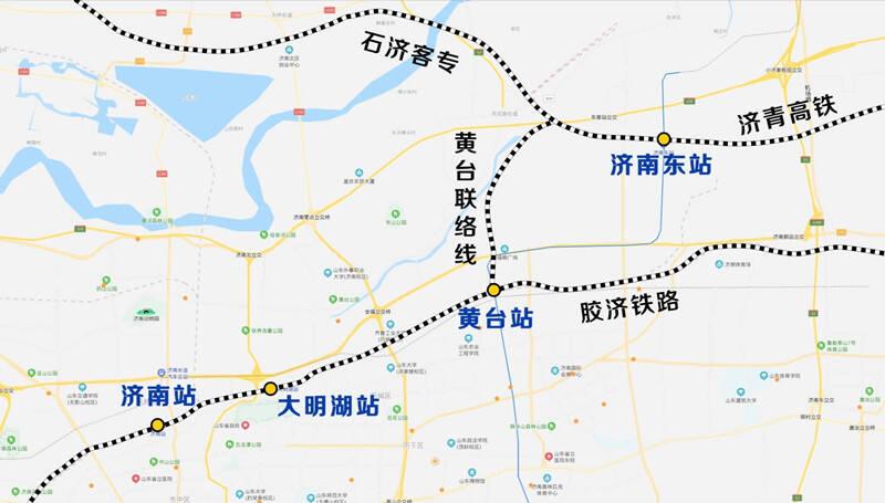黄台联络线首个大跨度连续梁0号块顺利浇筑 预计2020年底开通运营
