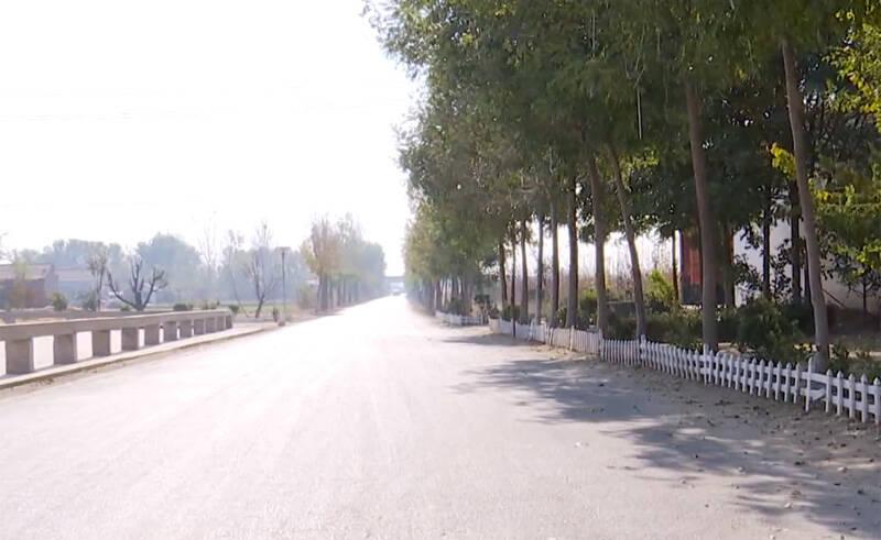 42秒丨滨州阳信县河流镇:聚力环境整治 建设美丽乡村