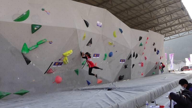 37秒丨山东省攀岩锦标赛、全运会青年组攀岩项目选拔赛在日照闭幕