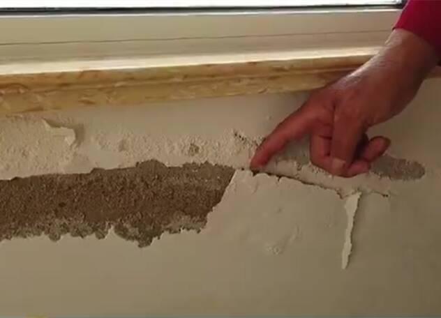"""烟台招远金晖花园丽水苑小区新房墙面起""""酥皮"""" 房屋外墙漏水谁来修?"""