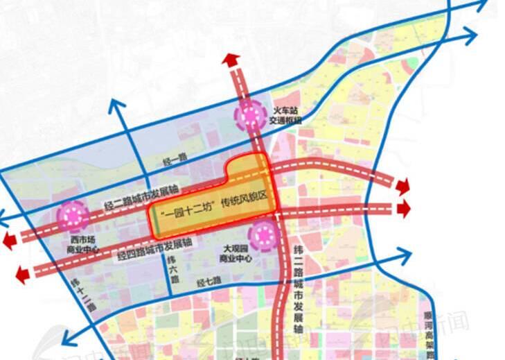"""透过六大规划看""""未来泉城"""":四大院校或搬离 这里将是地铁密集区"""