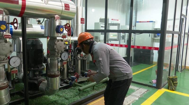 42秒|升至23℃了!滕州供暖首日供热管网、机组运行良好