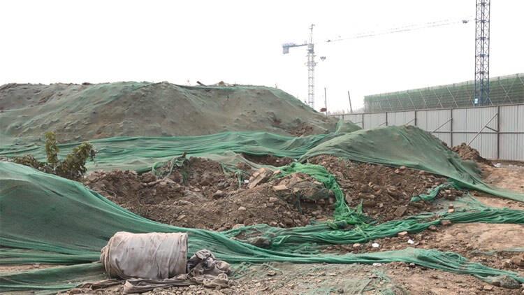 43秒丨突击检查!滨州一房地产施工工地存在扬尘等问题,督导组提出建议要求整改