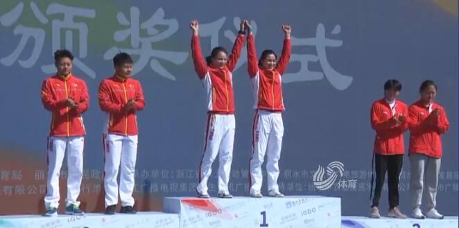 2020年全国皮划艇静水锦标赛落幕 枣庄运动员孙梦雅斩获两冠