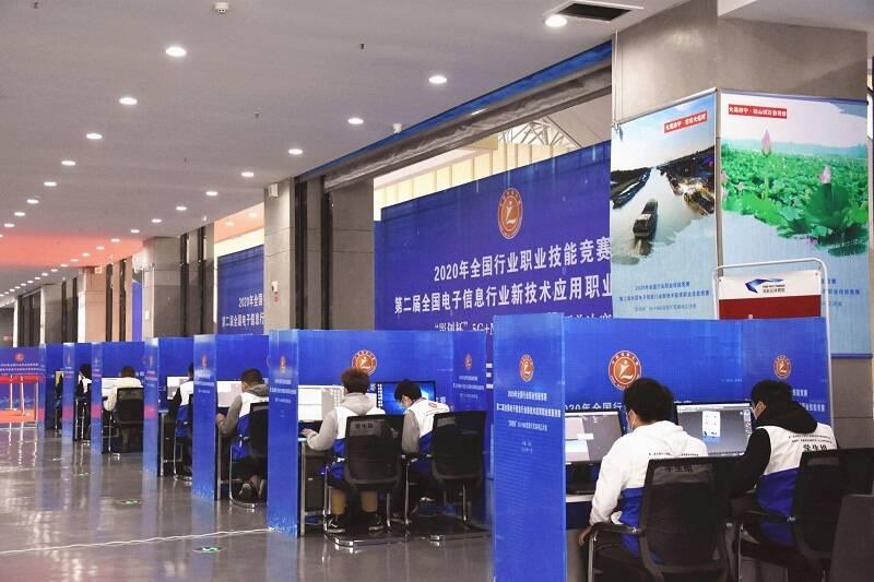 济宁市首次承办国家级技能竞赛 一组选手斩获全国第一