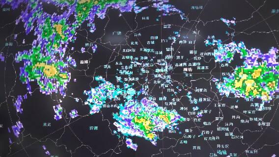 52秒丨40.8毫米!潍坊入冬以来首场强降雨 平均降雨量达历史同期最高值