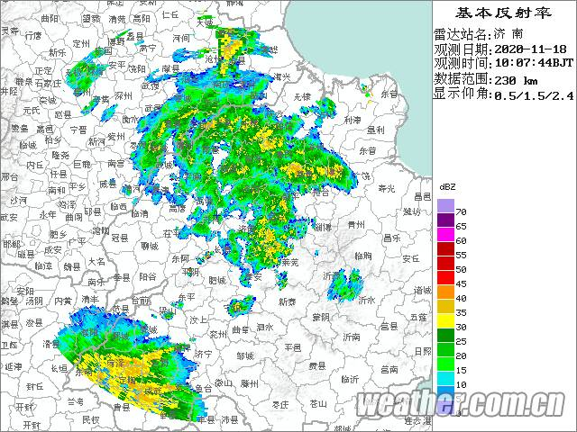 海丽气象吧丨济南普降大雨局地暴雨!山东本轮降雨+降温,最低气温降幅8~10℃