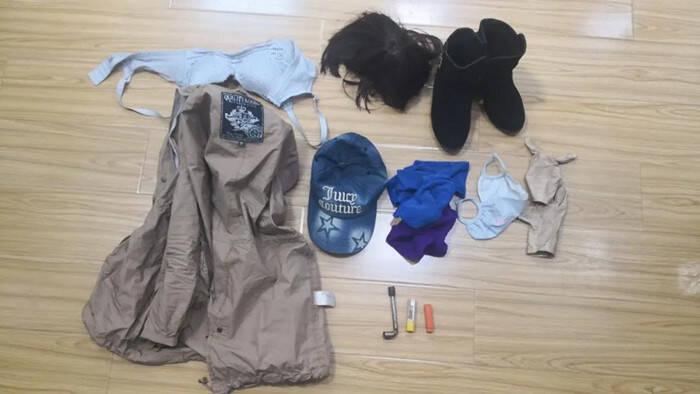假发套、人脸面具、女性内衣...东营这个贼专门假扮女人作案