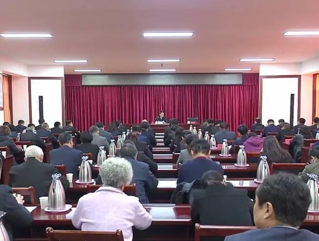 淄博市委书记江敦涛到科苑街道宣讲党的十九届五中全会精神