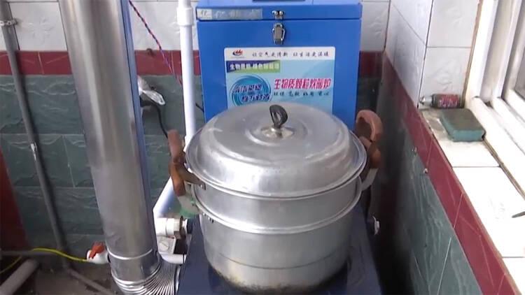 """43秒丨滨州阳信:废弃物变""""暖宝宝"""" 看农村不烧煤过暖冬"""