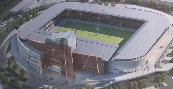 22秒丨日照国际足球中心项目计划明年5月份达到竣工验收要求